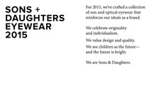 SONS and DAUGHTERS 2015 Image 2